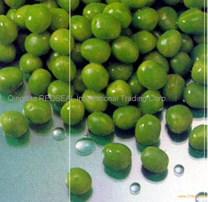 Frozen sugar green peas