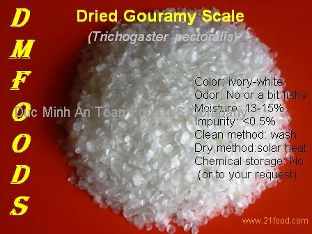 Dried soft gouramy fish scale products vietnam dried soft for Fish scale coke cut