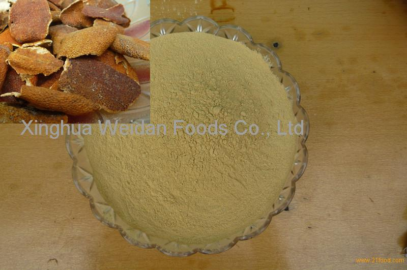 orange peel powders
