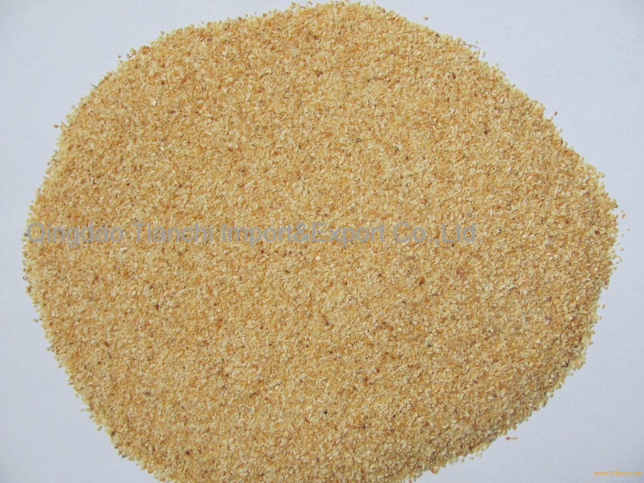Garlic granules 26-40mesh Grade B products,China Garlic granules 26