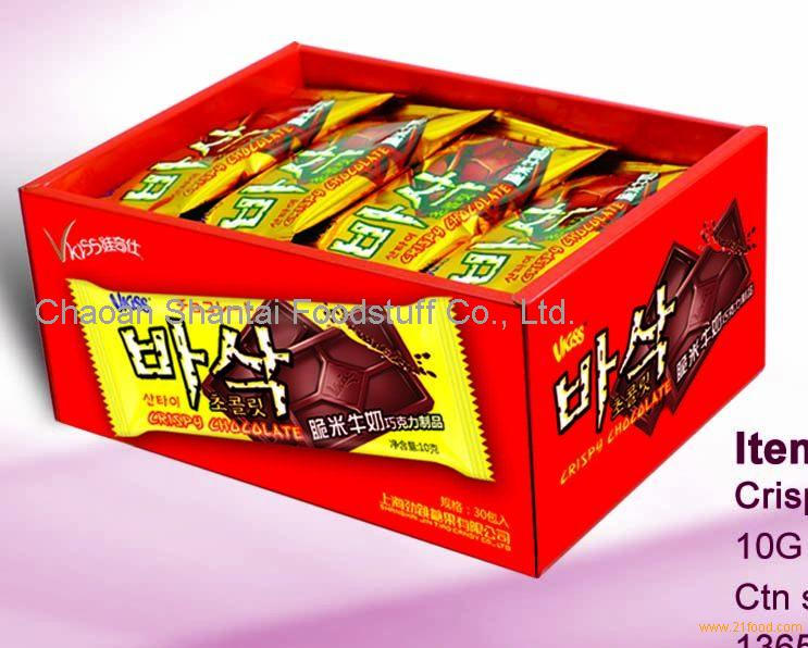 809 Crispy Rice Milk Chocolate