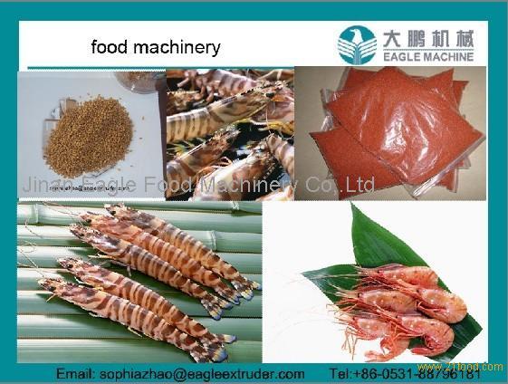 fish food/shrimp food/pet food processing machines