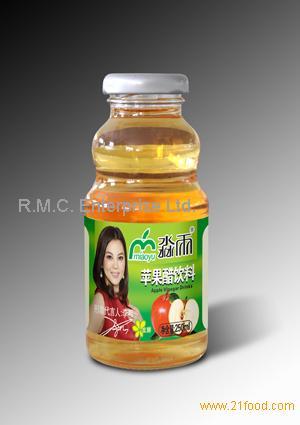 Apple Cider Vinegar Drink with Honey 250ML Glass Bottle
