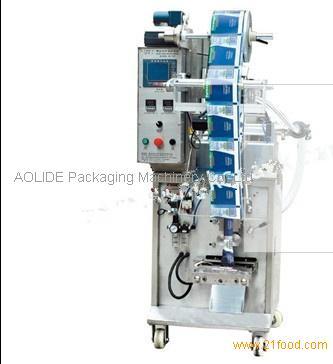 water sachet machine