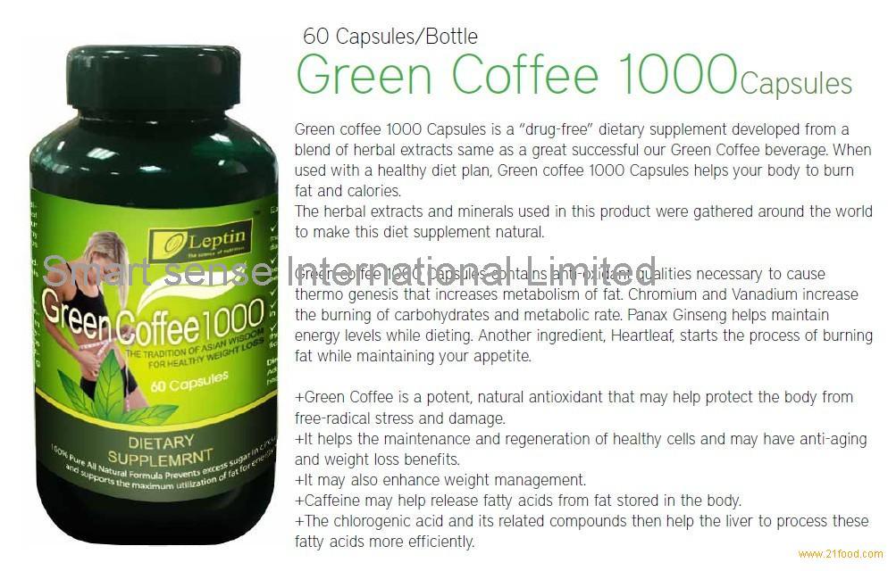 Green coffee ke price