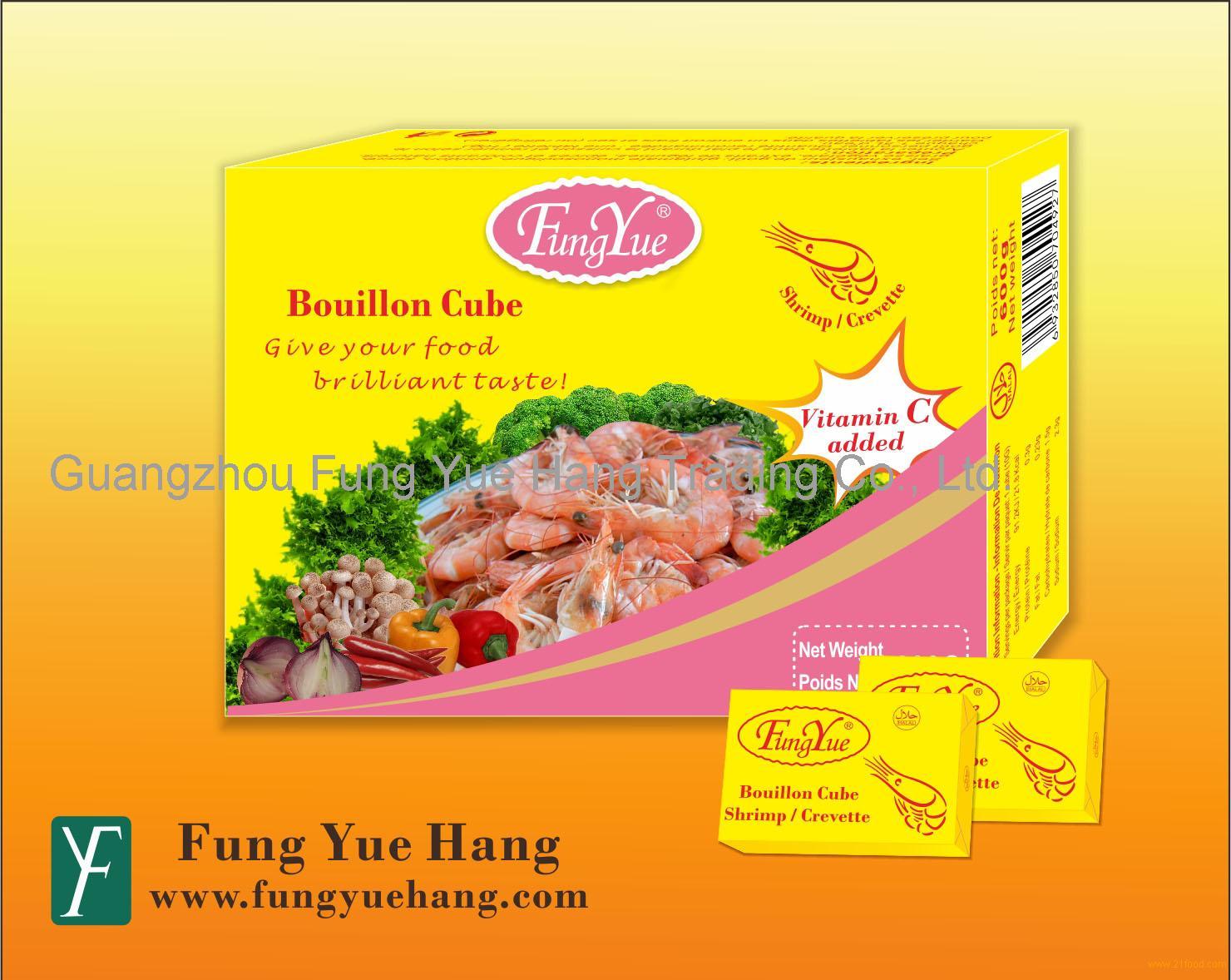 10g HALAL Shrimp Bouillon Cube Brands Seasoning