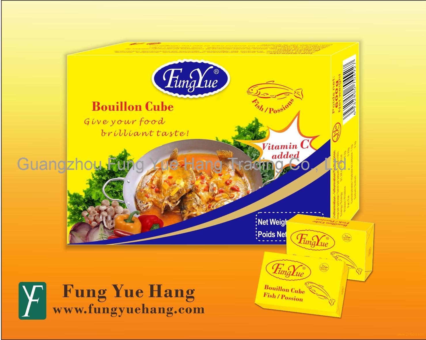 10g Dried Fish Powder Seasoning Bouillon Cube