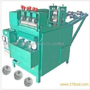 Stainless Steel Spiral Cleaning Ball equipment Scrubber machine Scourer Machine