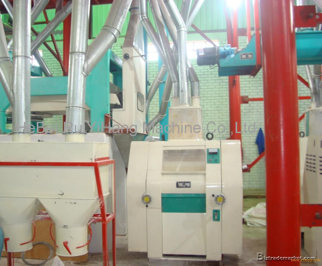 maize Flour mill Factory , wheat milling machine