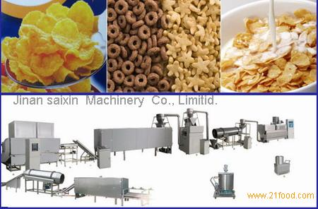 corn flakes machine