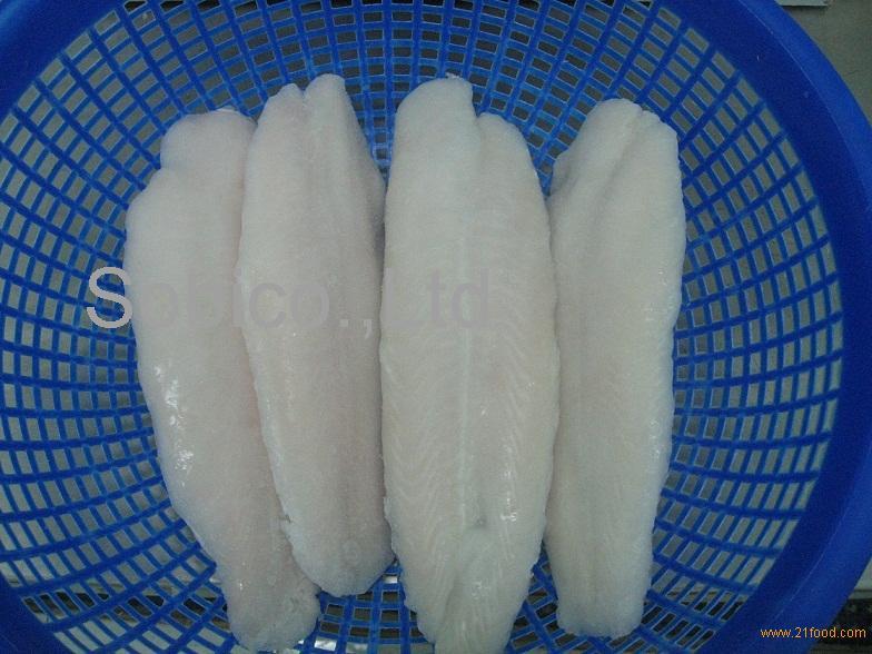 Catfish (Pangasius, basa) Fillet with glazing