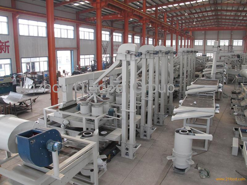Buckwheat processing line, dehulling & separating line