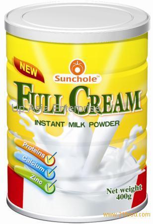 Full Cream Milk Tin