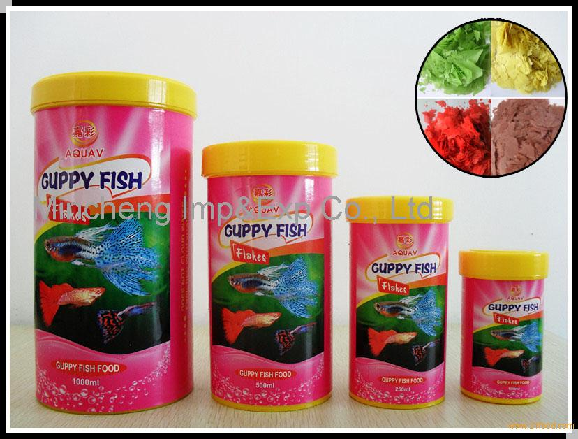 Guppy flake fish food pet food products china guppy flake for Guppy fish food