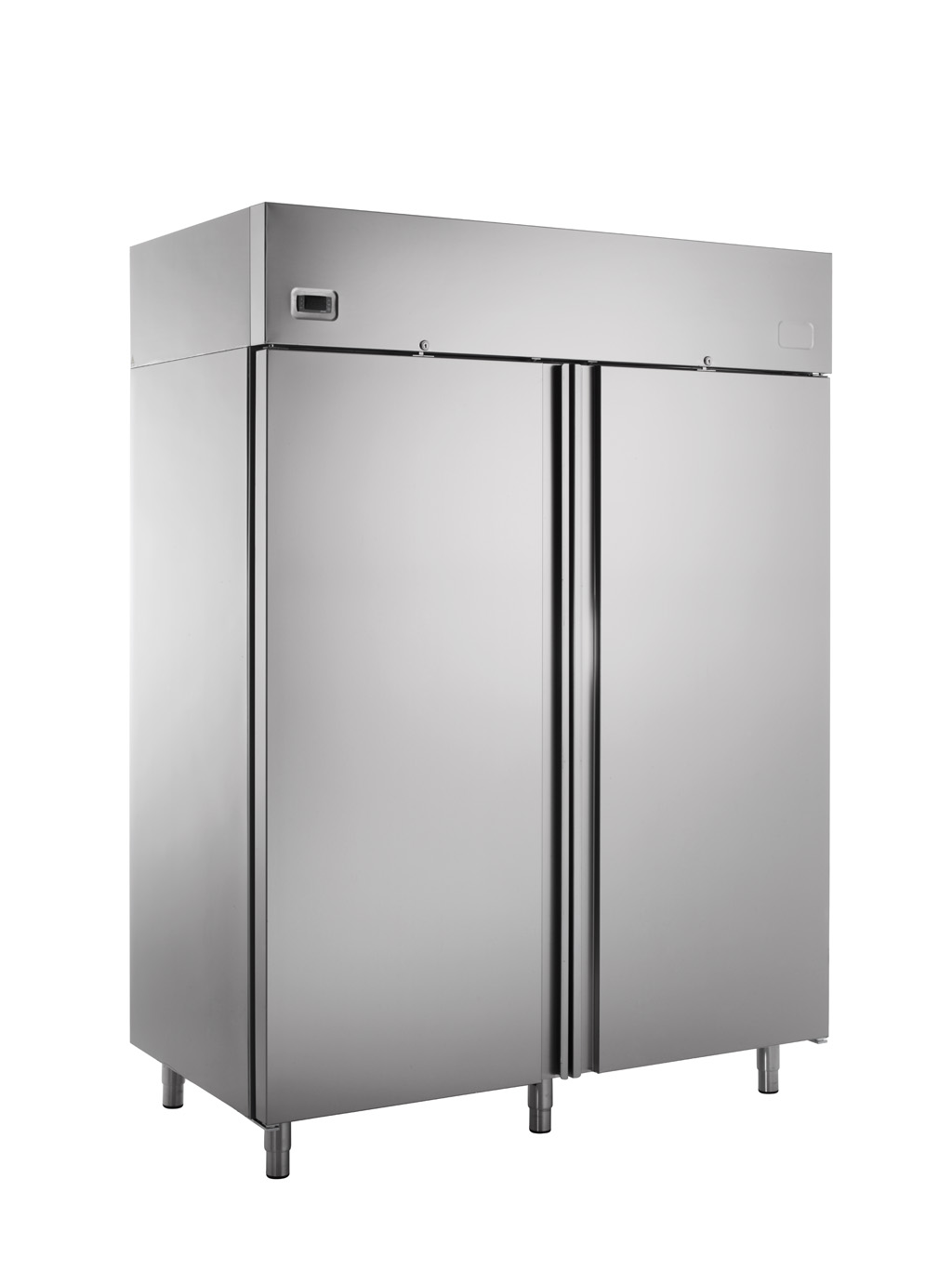 Stainless Steel Two Doors Refrigerator, Commercial Refrigerator