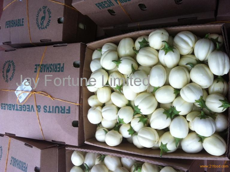 Egg plants white