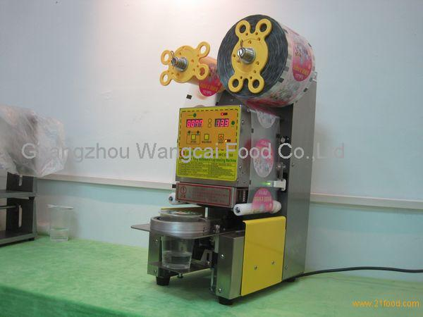 boba lid machine