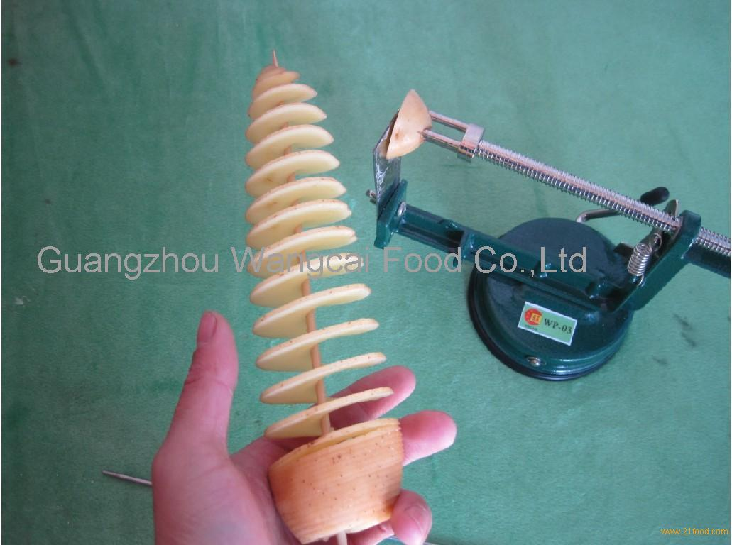 potato spiral cutting machine,tornado potato maker