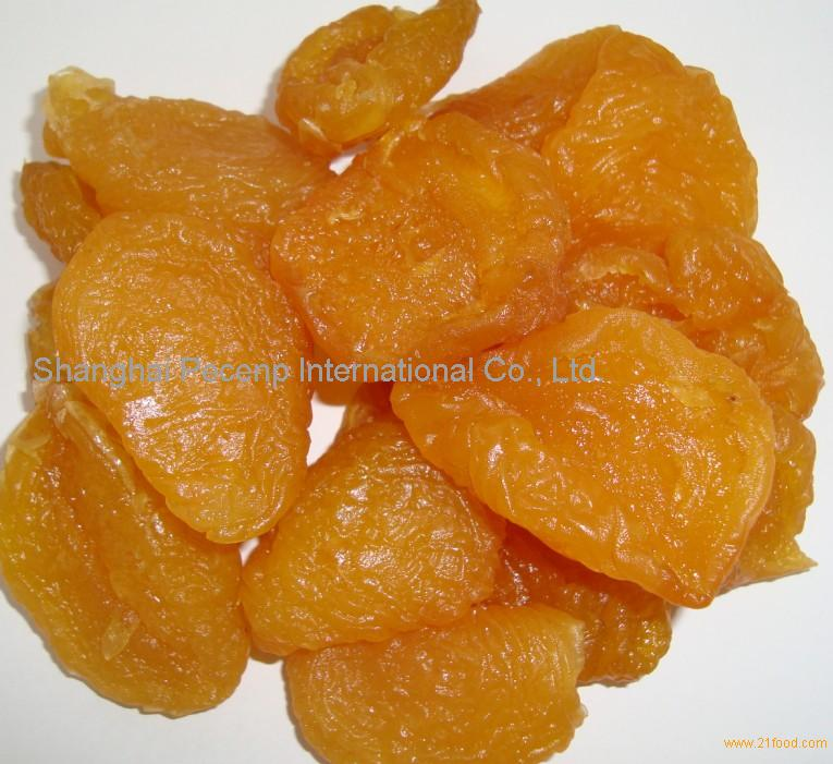 preserved air dried peach