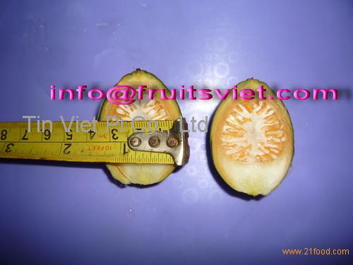 Frozen betel nut