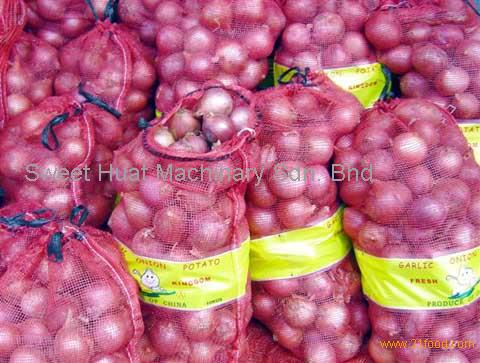 Red Onion 20kg Mesh Bags Ng