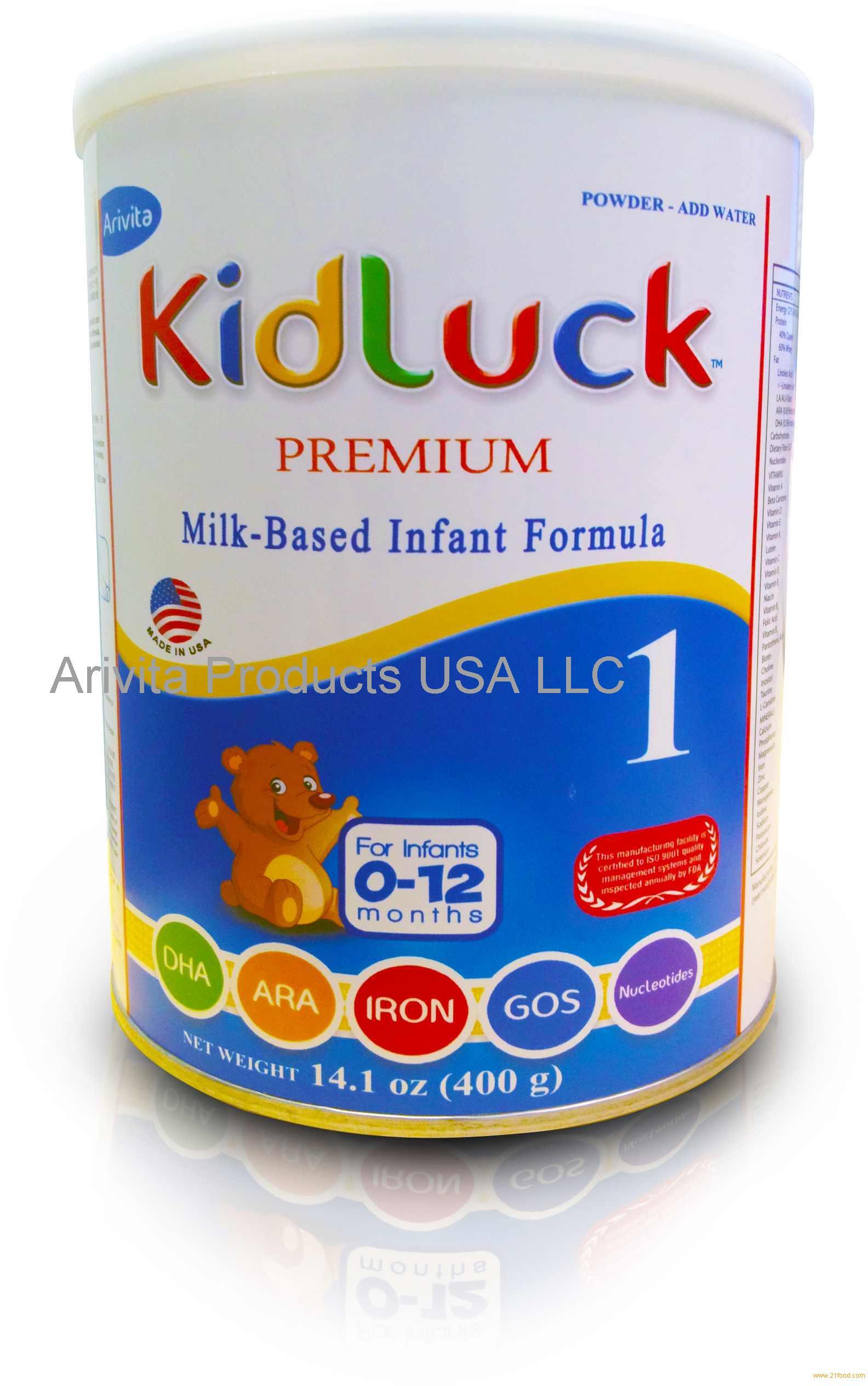 Baby powder milk brands