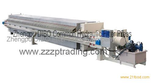 Zhengpu DIBO Common Hydraulic Filter Press