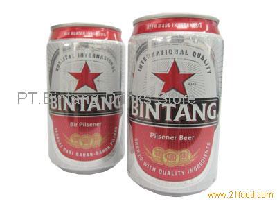 Bintang Beer Usa Bintang Beer 330 ml x 24 Cans