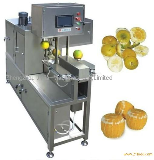 orange peeling machine/orange debarker/orange peeler for juicer ...