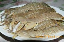 High nutrient mantis shrimp with good quality