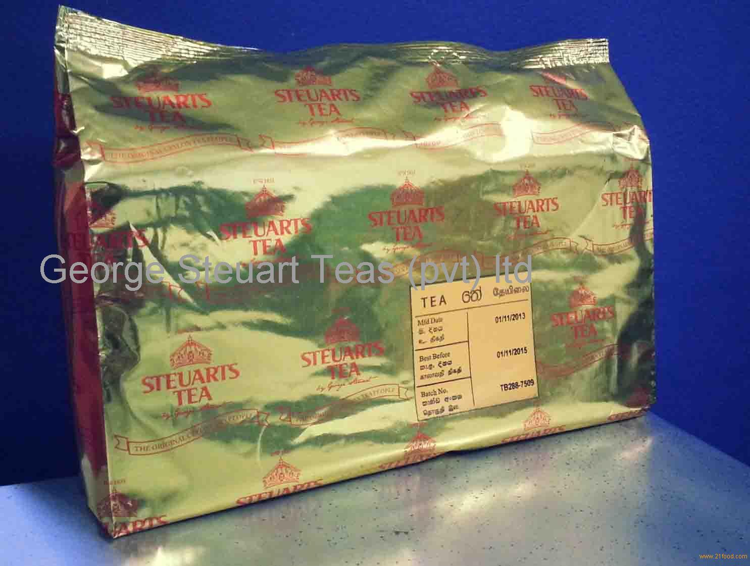 Horeca 100 Tea Bags Pack Catering Pack Products Sri