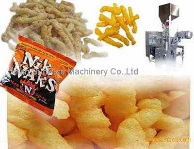 Kurkur/Nik naks snack food machine/production line with CE