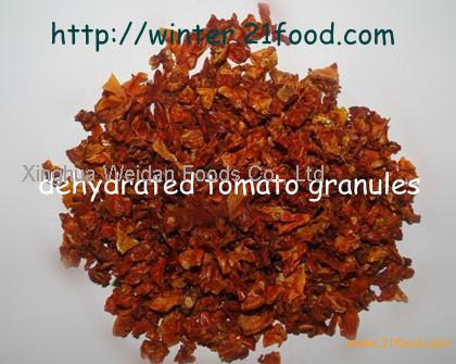 dehydrated tomato granules 002