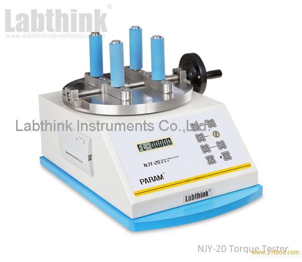 Packaging Test Instruments : Food packaging testing digital torque equipment