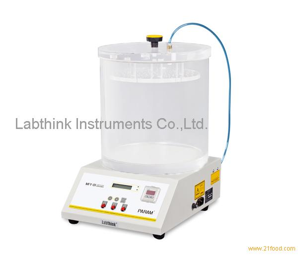 Food package integrity testing seal integrity testing for Cuisine instrument