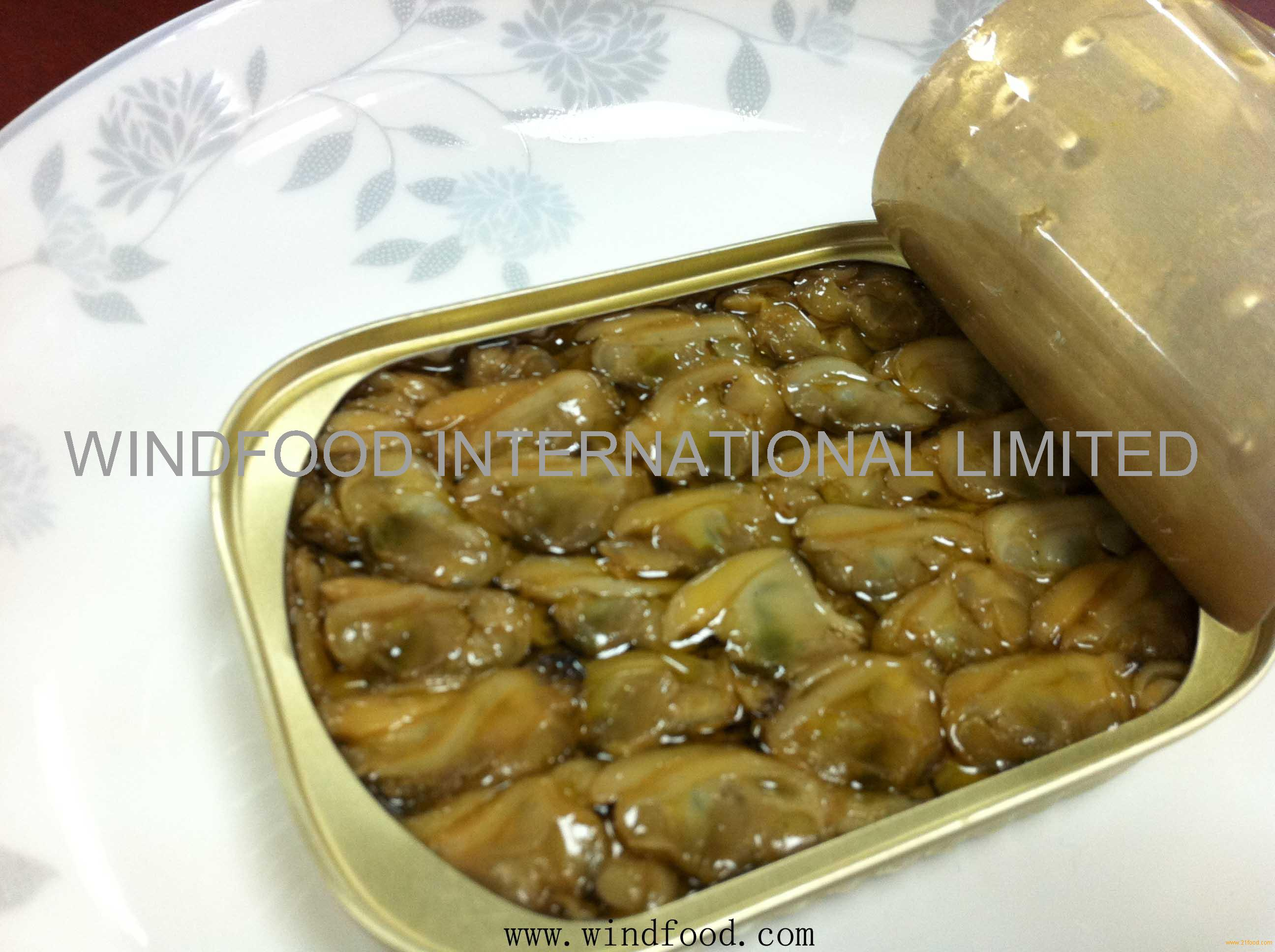 canned baby clams from China Fujian , canned baby clams manufactory ...