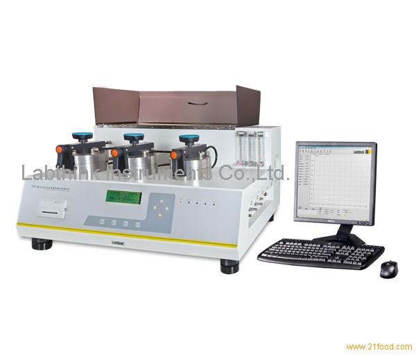water vapor permeation and barrier testing instrument for lidding films