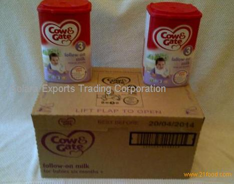 Cow & Gate Brand Infant Milk formula