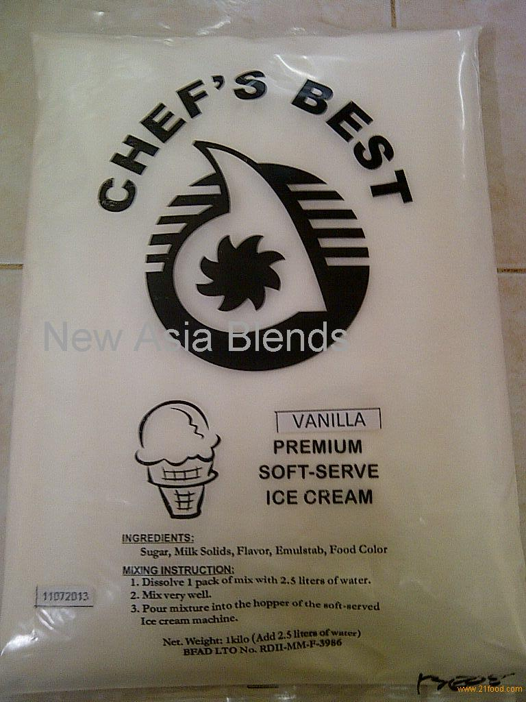 Ice Cream Mix Products Philippines Ice Cream Mix Supplier