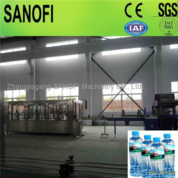 Pure water bottling water equipment/3 in 1 Automatic washing filling capping machine
