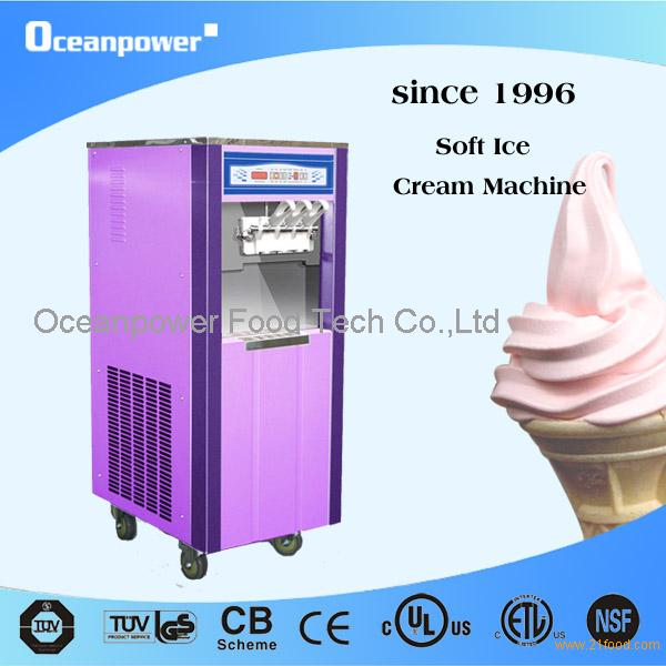 one soft serve machine