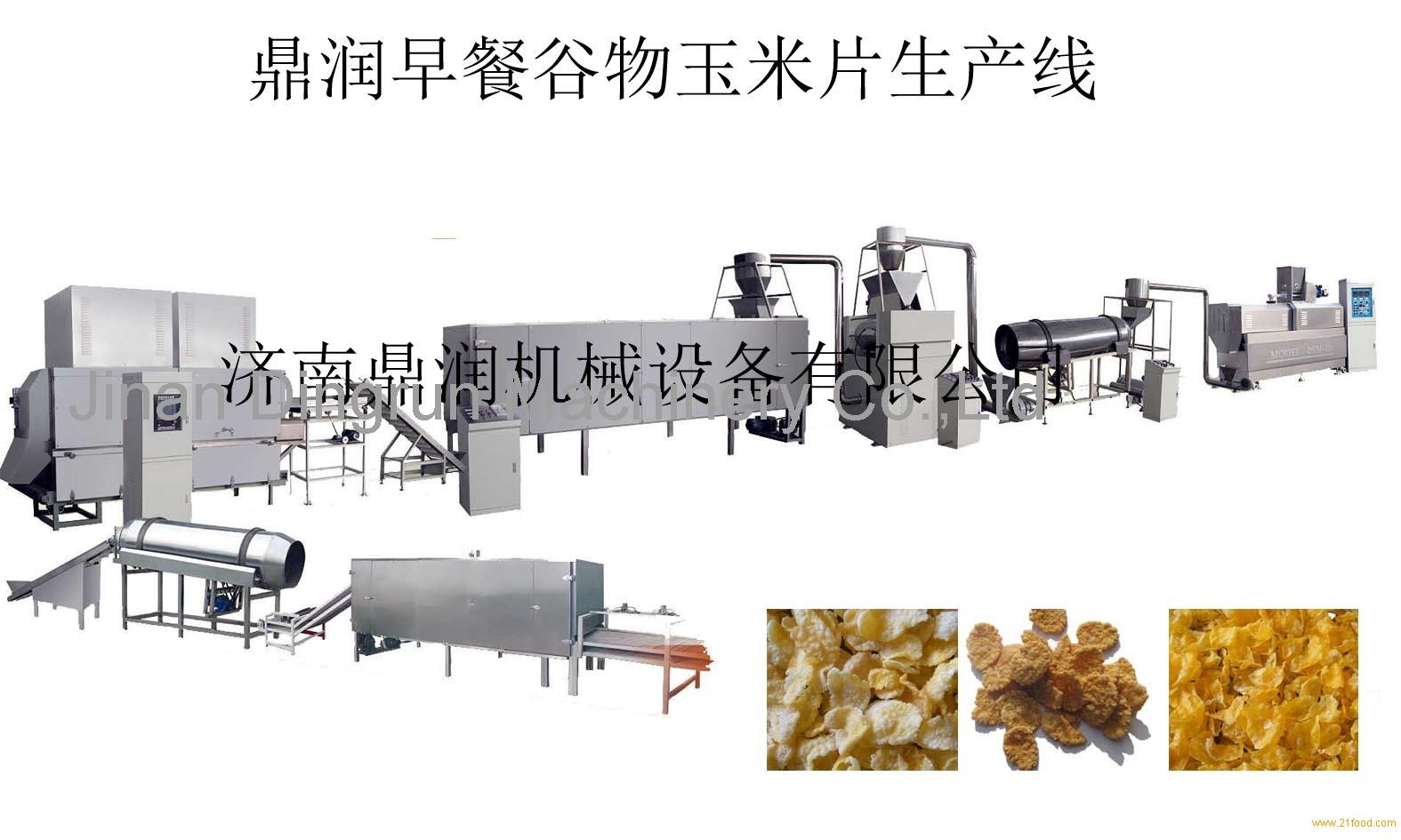 Complete Oat Flakes Production Line Instant Oatmeal