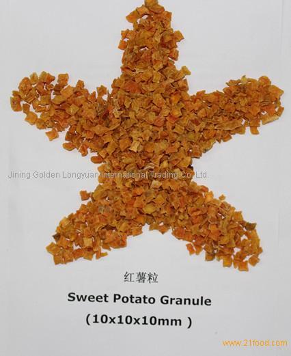 Dried Sweet Potato Granule