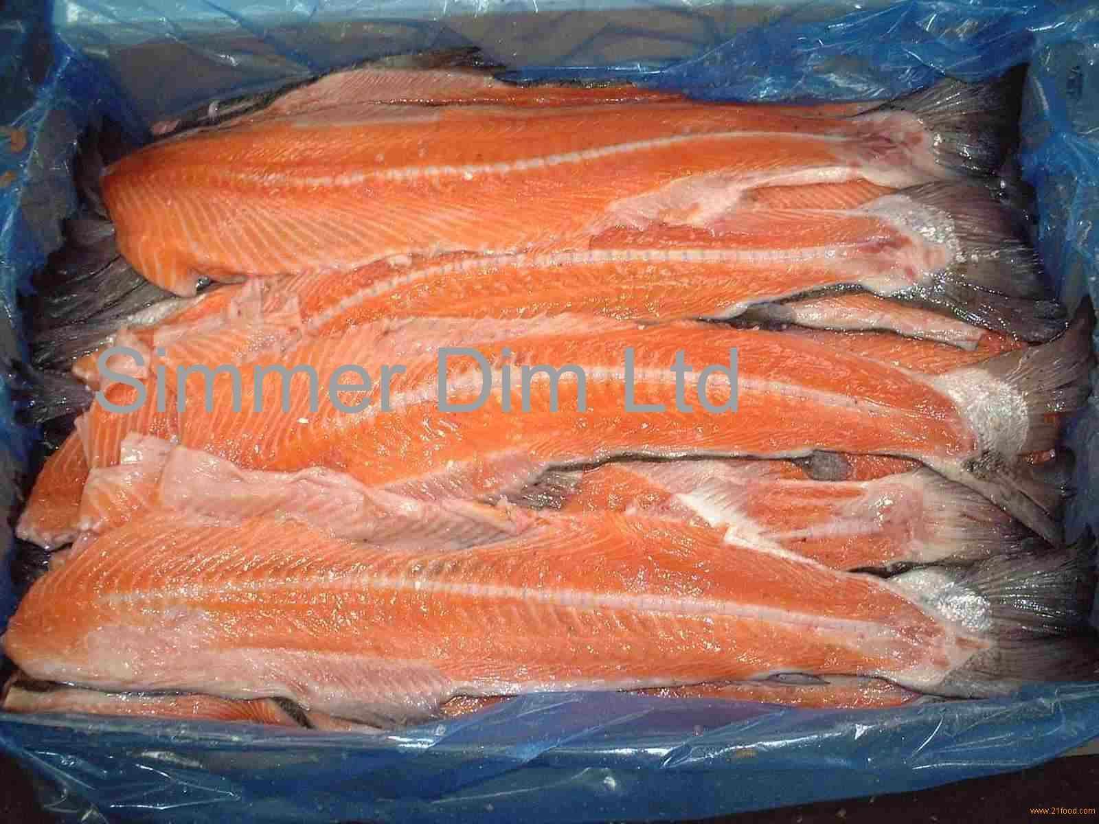 Фото хребет лосося в домашних условиях