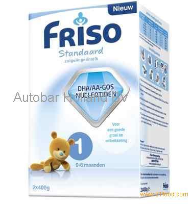 10 x 28 oz Friso Standard 1 Milk Powder Dutch Baby formula ...