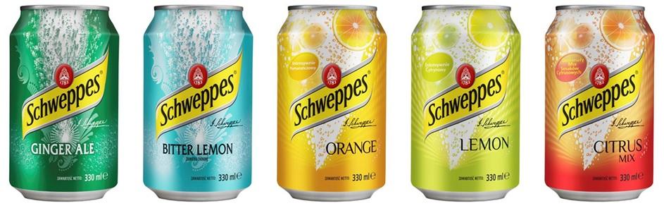 Schweppes Gold Soft Drink
