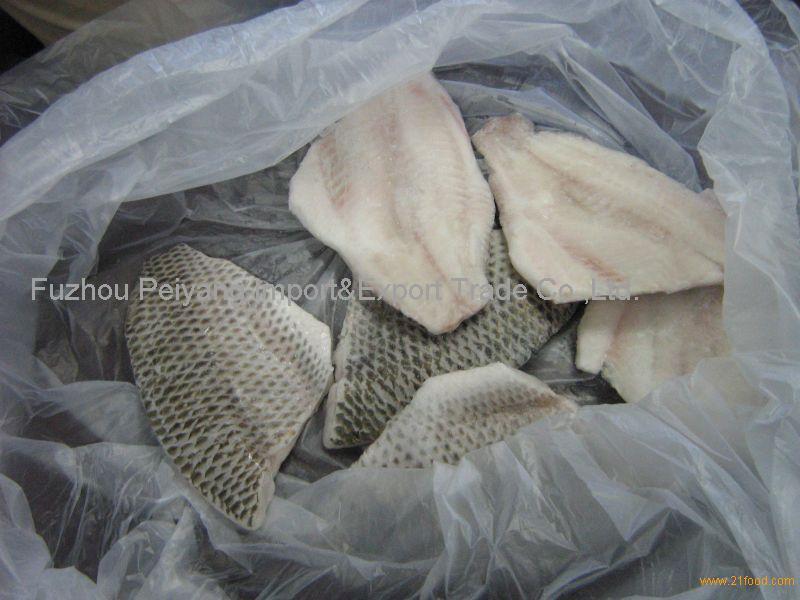 Frozen Tilapia Skinless Fillet