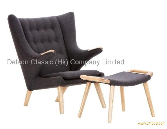Modern Danish Hans Wegner Pp19 Teddy Bear Chair Or Papa