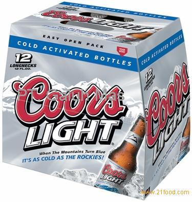 Good Coors Light 12pk Btls