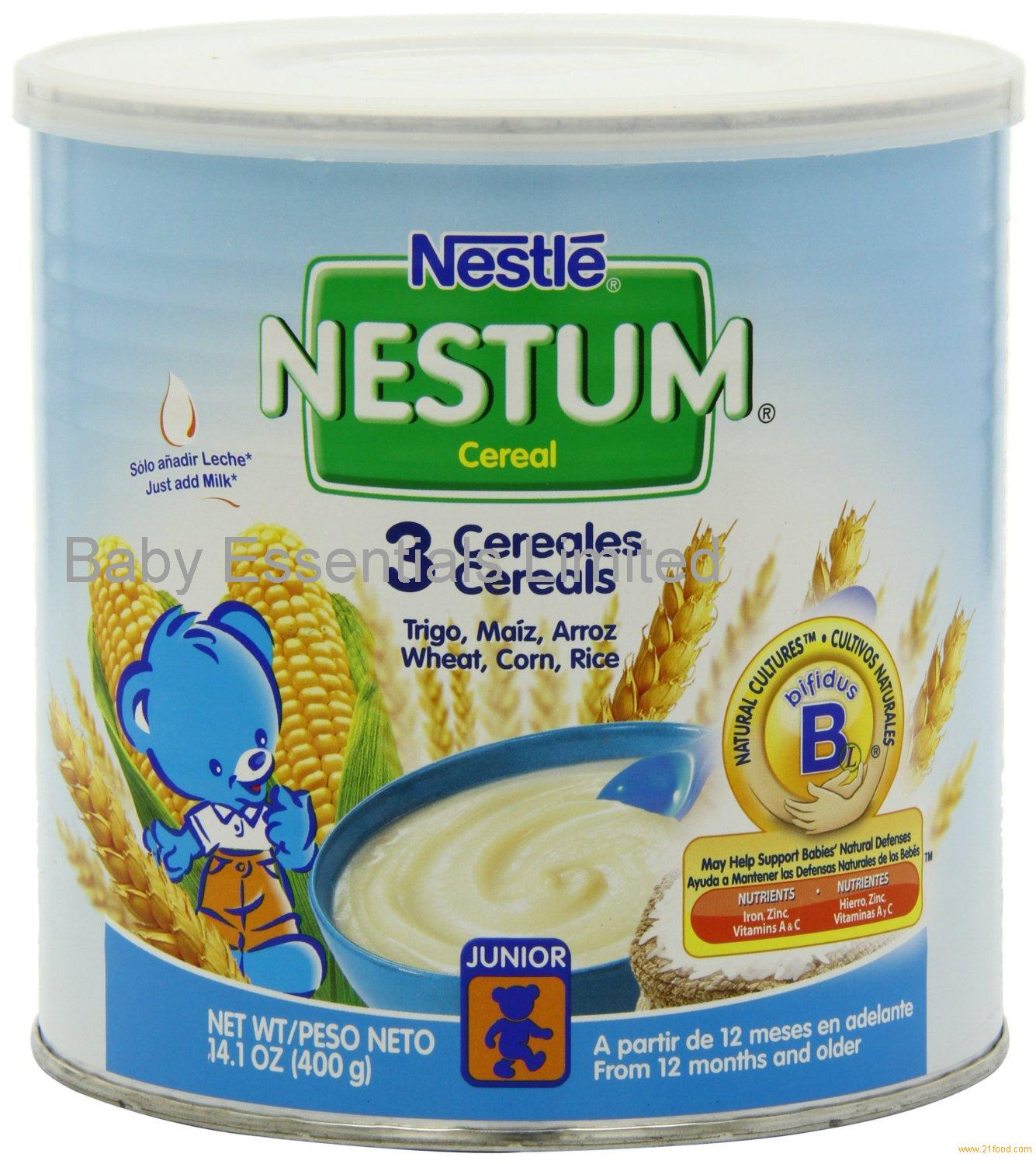Nestle Nestum 3 Cereals, 14.1-Ounce (Pack Of 6) Products